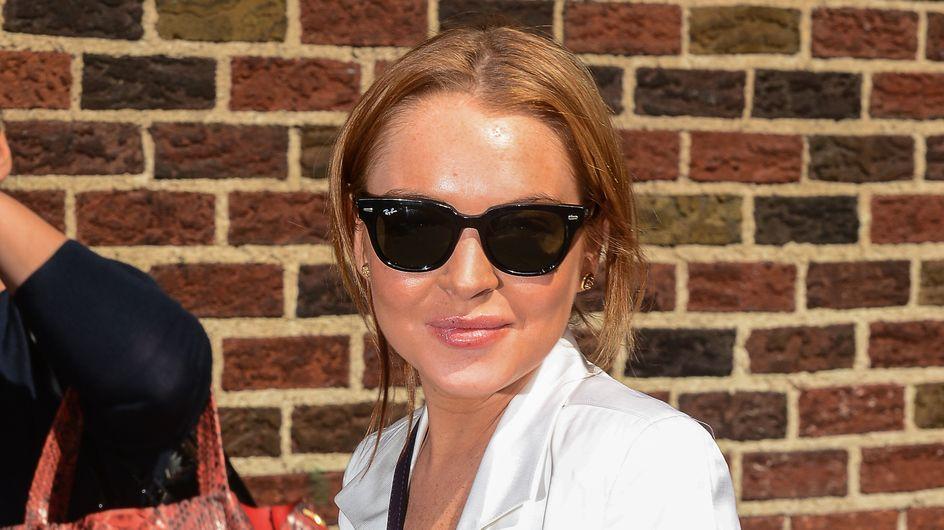 Lindsay Lohan serait-elle en train de remonter la pente ? (photos)