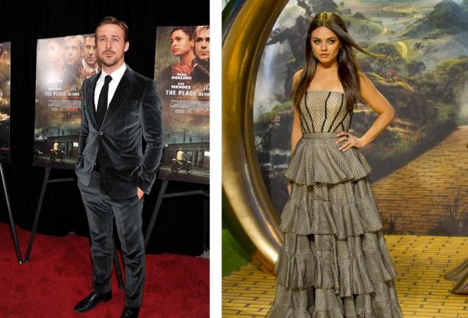 Ryan Gosling et Mila Kunis, acteur les plus désirés