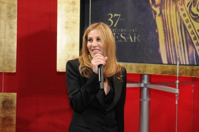 Mathilde Seigner aux césars en 2012