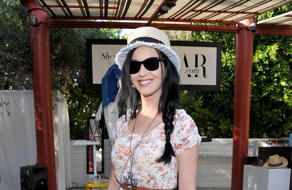 Katy Perry, son look bohème pour Coachella