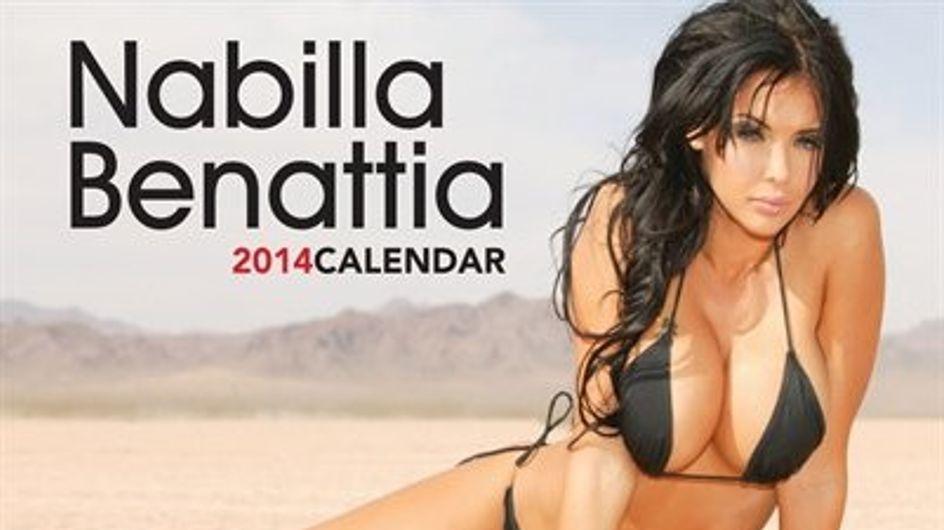 Nabilla sort son calendrier 2014 !