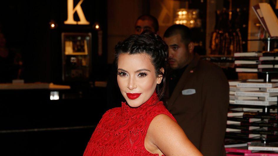 Kim Kardashian enceinte : Radieuse et fière de son ventre à Las Vegas (Photos)