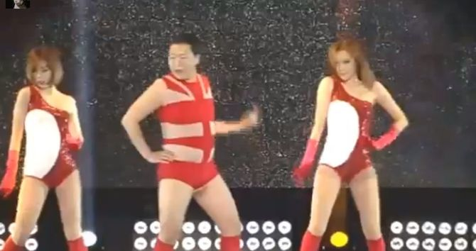 Psy reprend Single Ladies