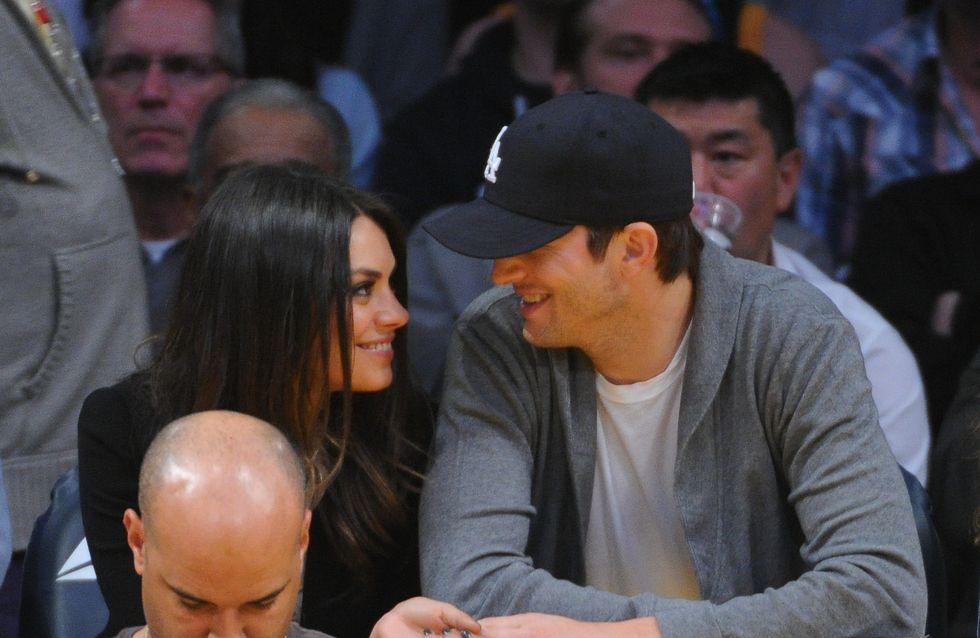 Mila Kunis et Ashton Kutcher : Week-end en amoureux en Belgique