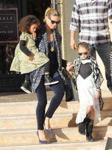 Heidi Klum et ses deux filles
