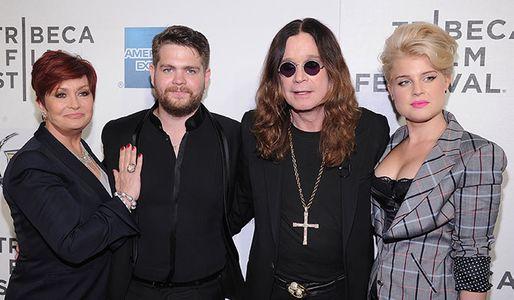 Sharon, Jack, Ozzy and Kelly Osbourne