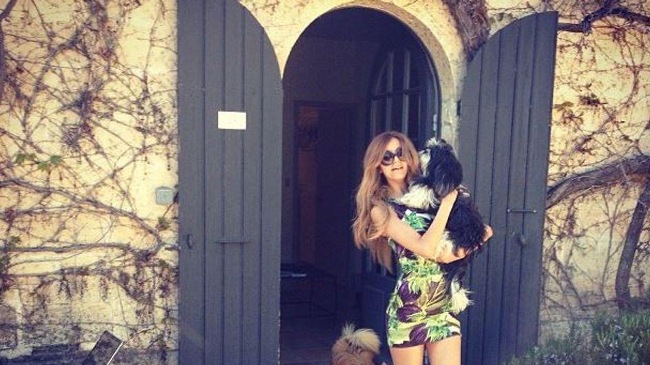 Zahia Dehar : Ses vacances en Provence (Photos)