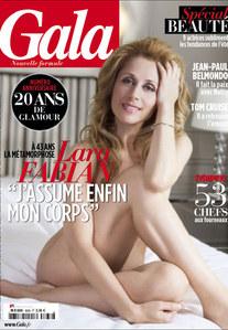 Lara Fabian pose nue dans Gala