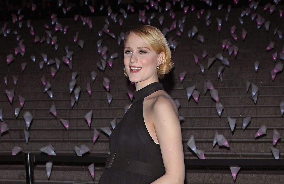 Evan Rachel Wood : Son look élégant de femme enceinte