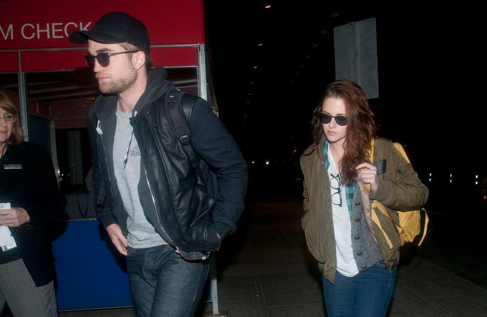 Robert Pattinson et Kristen Stewart : Accros à la cigarette
