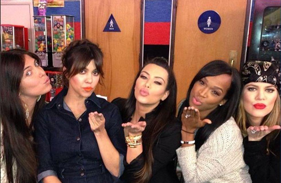 Kim Kardashian : Elle vole la vedette à sa soeur pour son anniversaire (photos)
