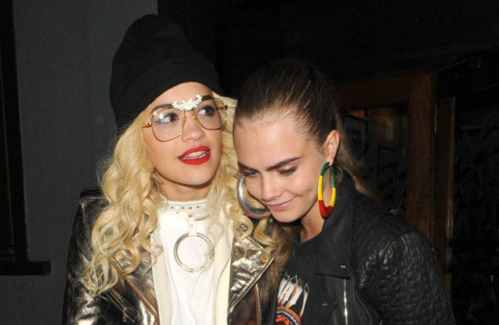 Cara Delevingne set to record an album with Rita Ora