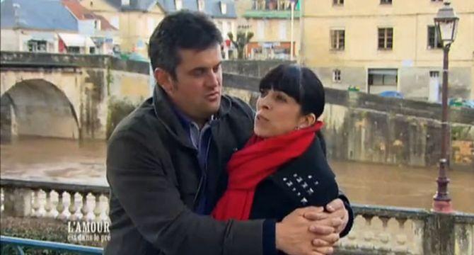 Pierre et Frédérique heureux parents