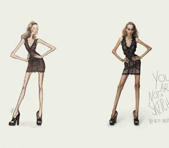 Anorexie : Une pub choc au Brésil