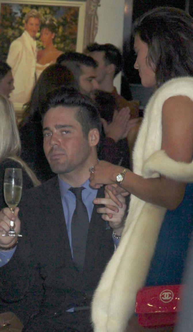 Spencer Matthews with Verity Chapman