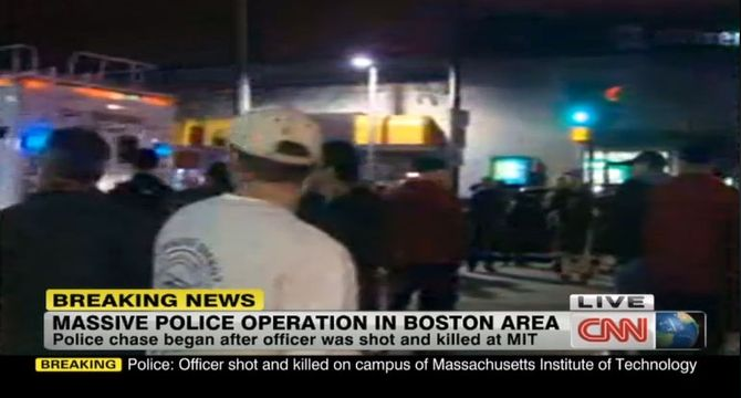 Fusillade à Boston