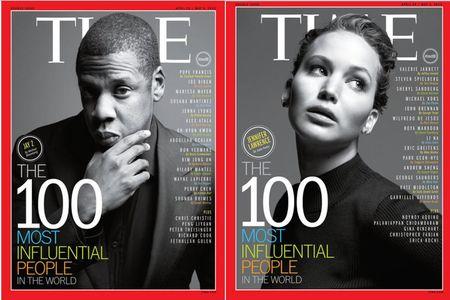 Jennifer Lawrence, Jay-Z : top 100 des personnalités les plus influentes