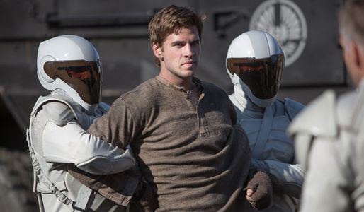Liam Hemsworth in The Hunger Games 2