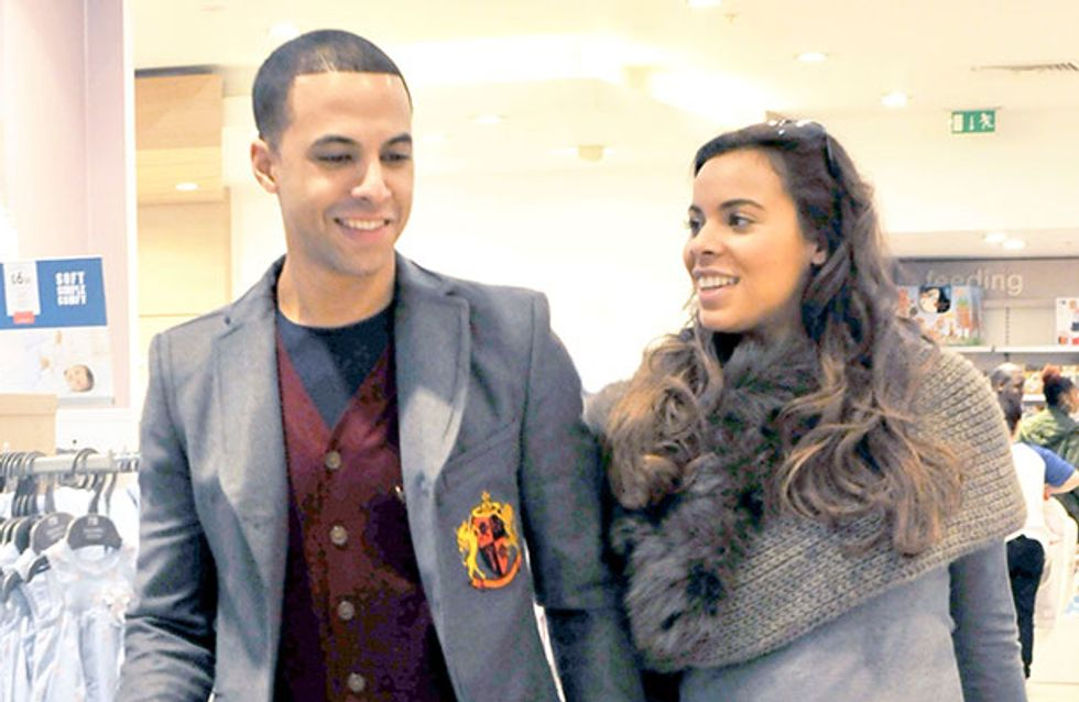 Are Rochelle and Marvin Humes expecting a baby boy?