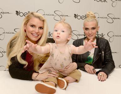 Jessica Simpson, sa fille Maxwell, et sa soeur Ashlee