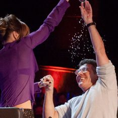 BGT 2013: Amanda Holden throws water over Simon Cowell in judges showdown
