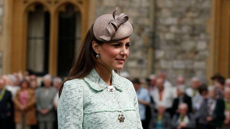 Kate Middleton : Son ventre s'est bien arrondi (Photos)