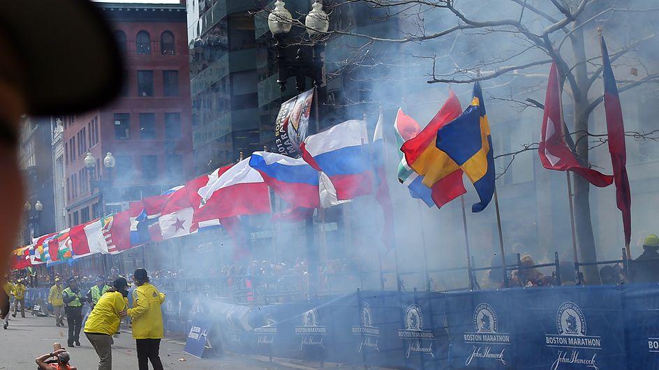Attentats de Boston : Un bruit de pétard puis, plus rien