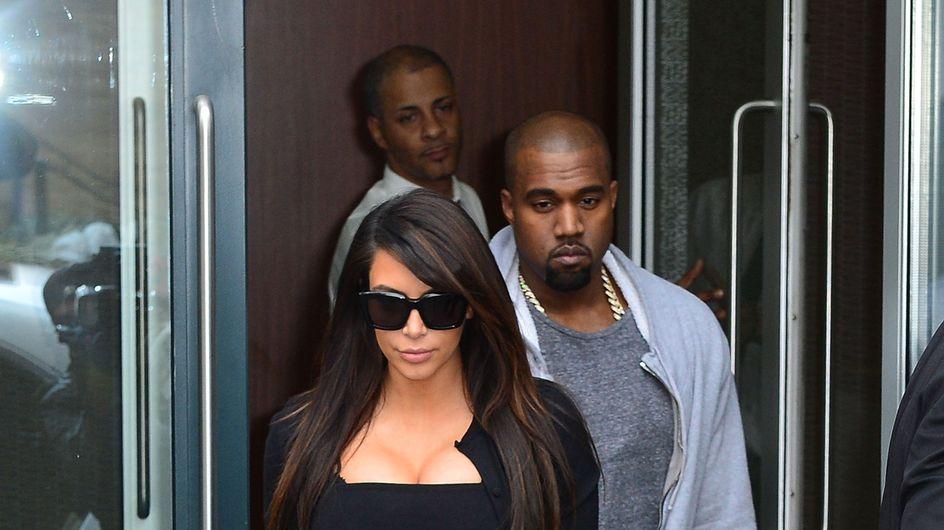 Kim Kardashian : Kanye West n'a pas l'air heureux de la revoir... (Photos et Vidéo)