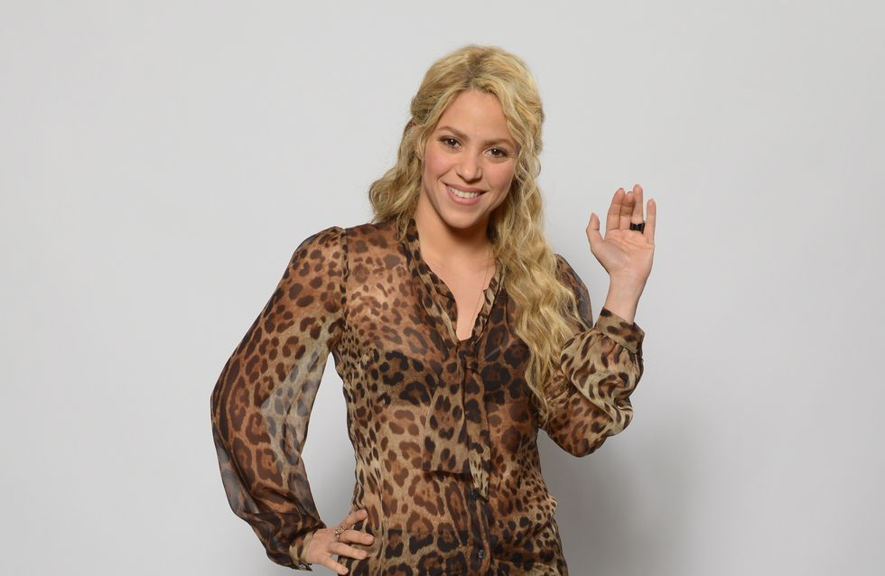 Shakira : Elle ose la blouse léopard transparente (Photo)