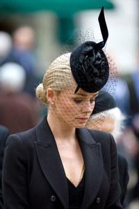 Katherine Jenkins at Margaret Thatcher's funeral