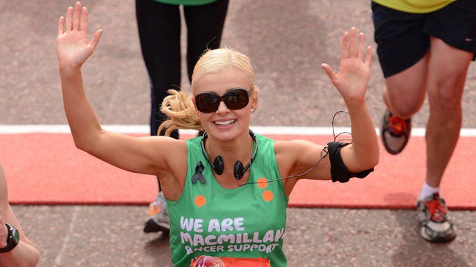 Katherine Jenkins hits back at London Marathon make-up claims