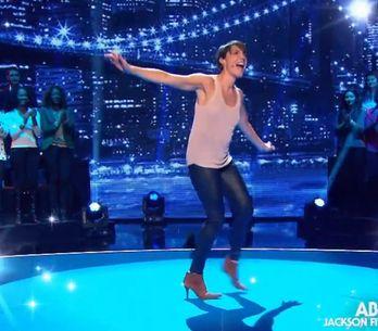 Alessandra Sublet danse sans soutien-gorge dans l'émission d'Arthur !