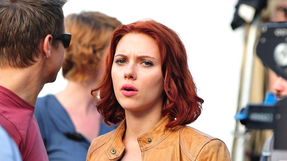 Scarlett Johansson : De nouveau rousse ! (Photos)