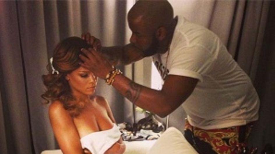 Rihanna : Encore topless sur Instagram
