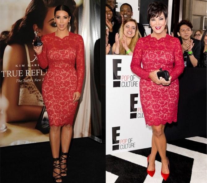 Kim Kardashian et Kris Jenner