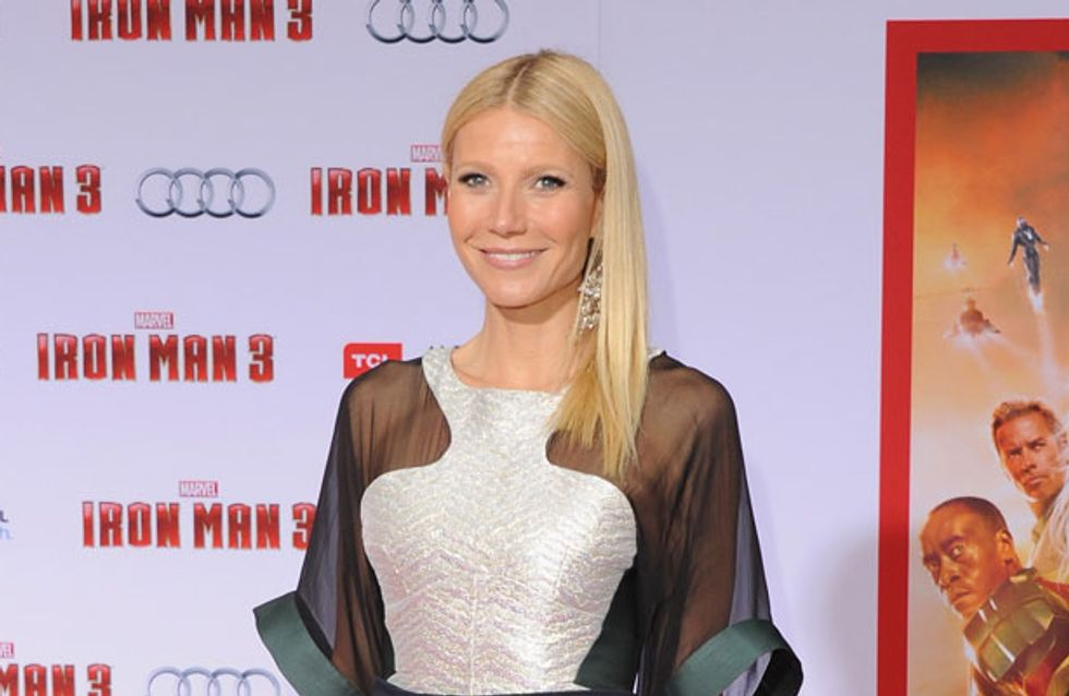 Gwyneth Paltrow bares all in revealing dress after she's named Most Beautiful Woman