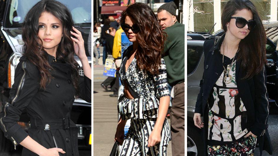 Selena Gomez : Son marathon de looks infâmes cette semaine