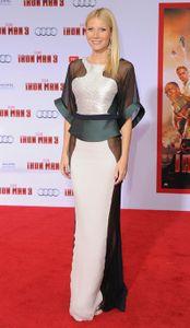 Gwyneth Paltrow at the Iron Man 3 premiere