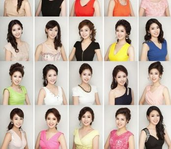 Les Miss Corée du Sud, tellement refaites qu'elles ont toutes la même tête !