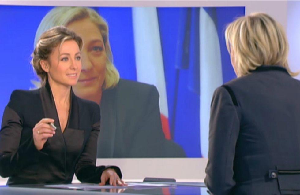 Marine Le Pen vs Anne-Sophie Lapix : Nouvelle confrontation sanglante