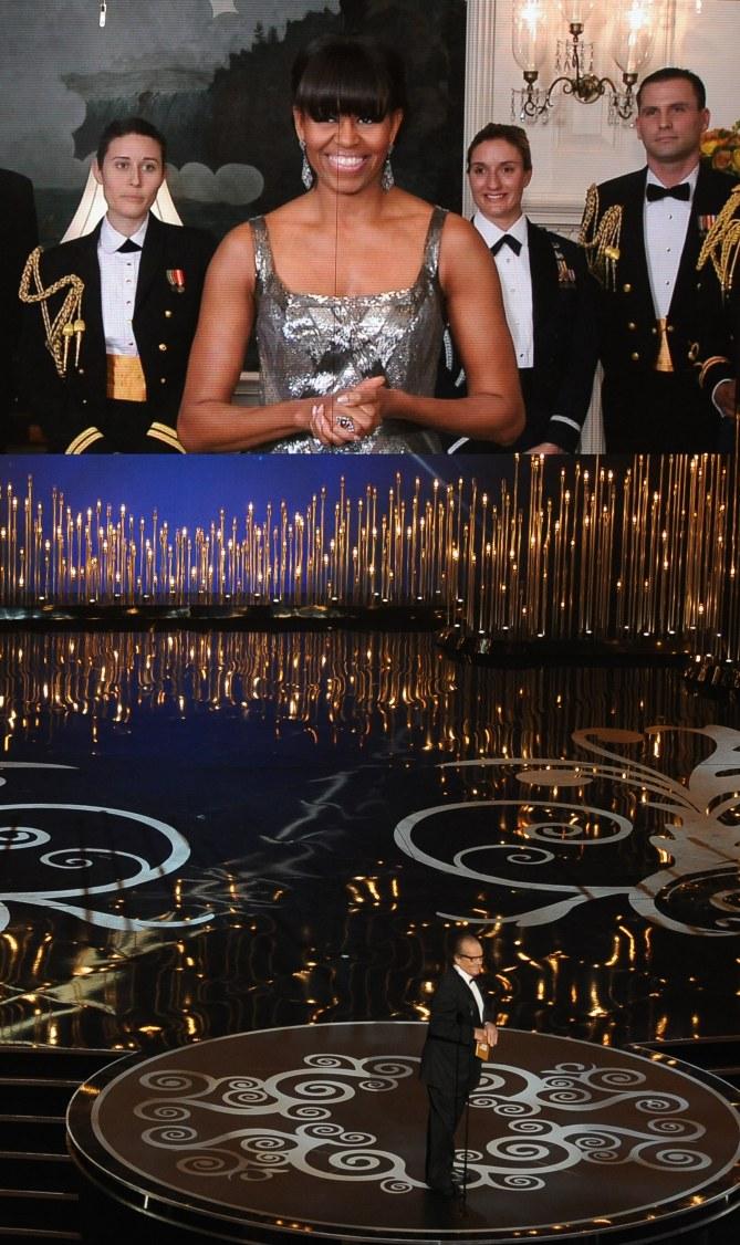 Michelle Obama et ses jolis bras