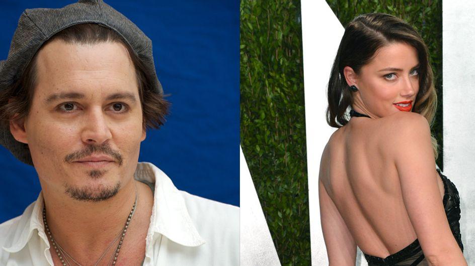 Johnny Depp et Amber Heard ensemble : La photo qui confirme