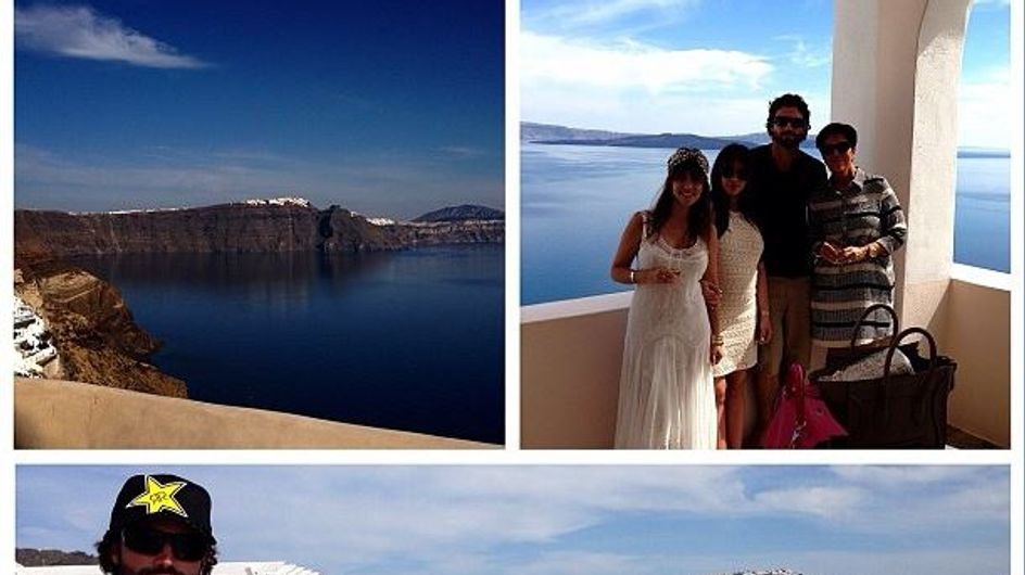 Kim Kardashian : Vacances luxueuses en Grèce (Photos)