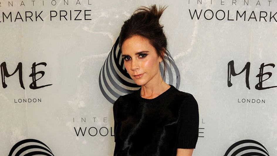 Victoria Beckham admits she designs collection dresses naked