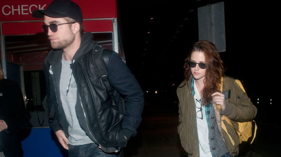 Robert Pattinson and Kristen Stewart loved-up as ever at sweaty LA concert