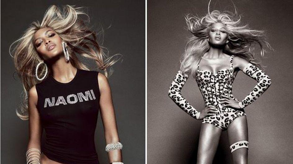 Naomi Campbell : La panthère passe au blond pour Vogue Brésil (Photos)