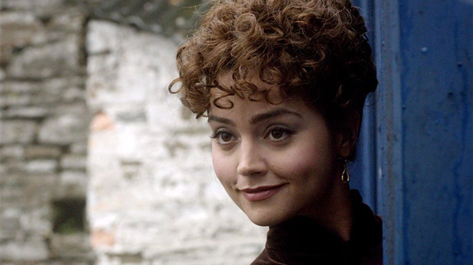 Doctor Who new series 7 pictures: Jenna-Louise Coleman has a perm!
