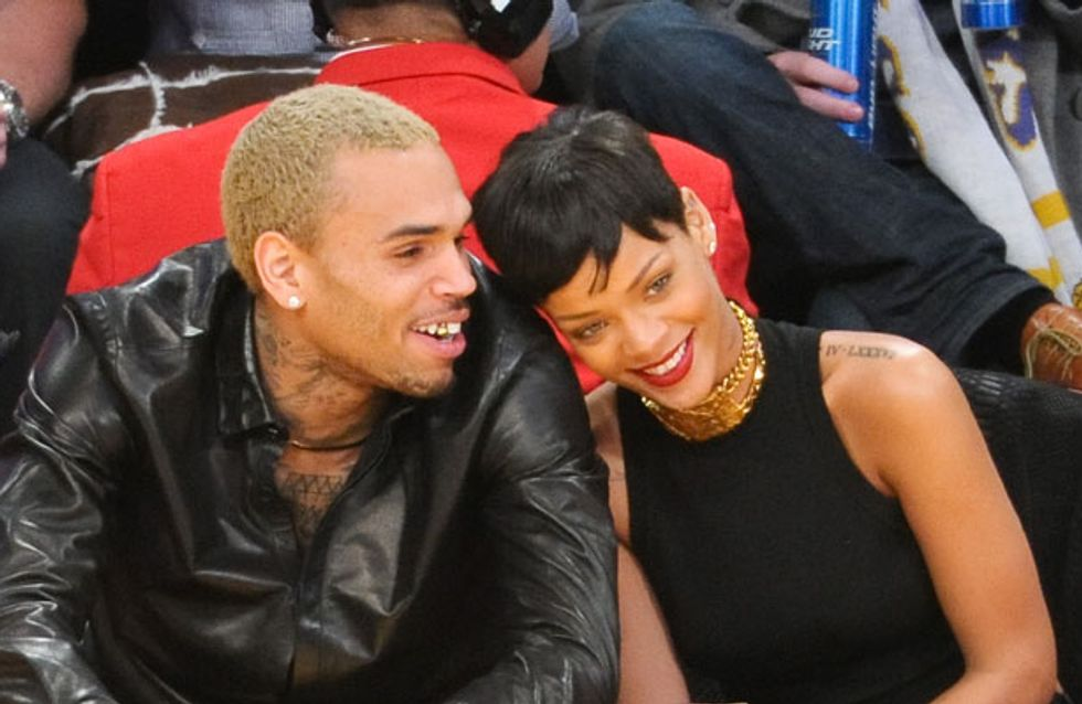 Chris Brown Twitter drama: Singer unfollows Rihanna after she kisses mystery man and follows Drake