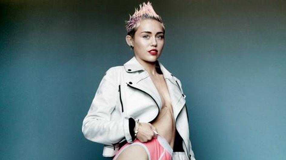Miley Cyrus : Trash et dénudée pour V Magazine
