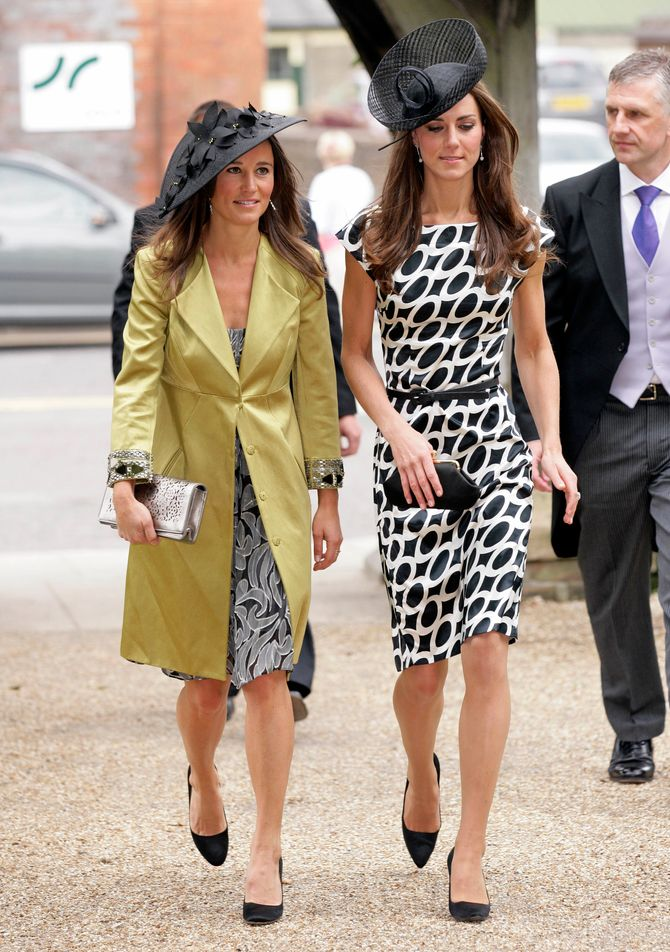 Kate Middleton et sa soeur Pippa Middleton